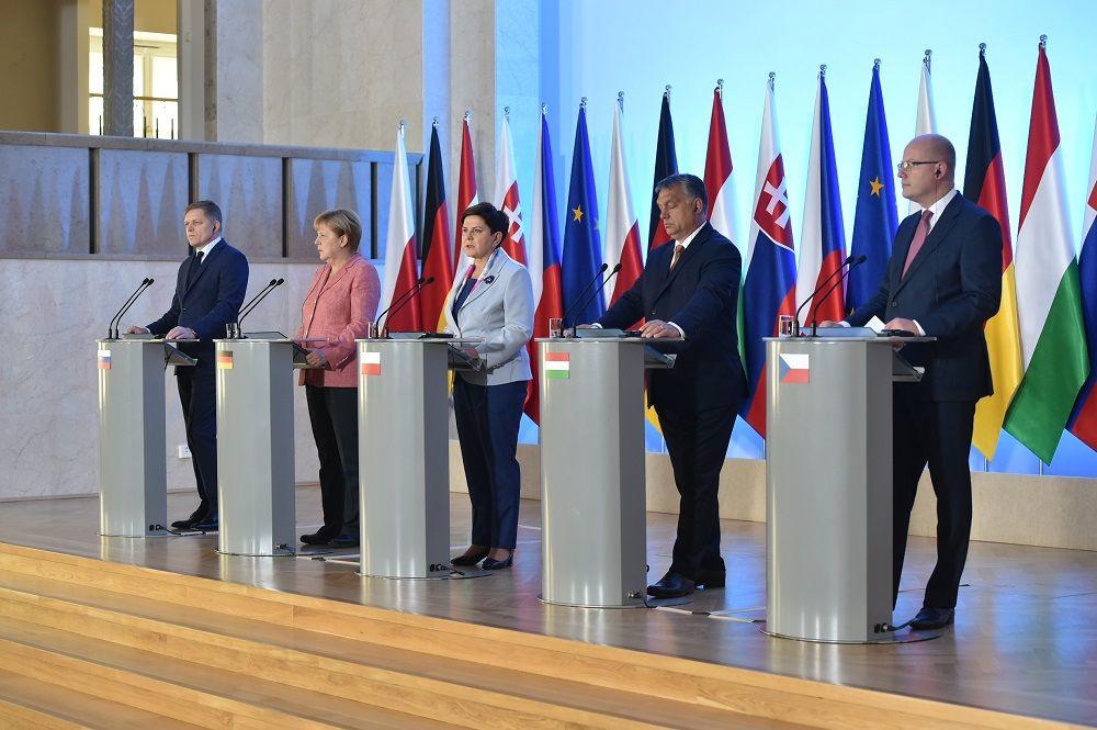 Merkelová V4