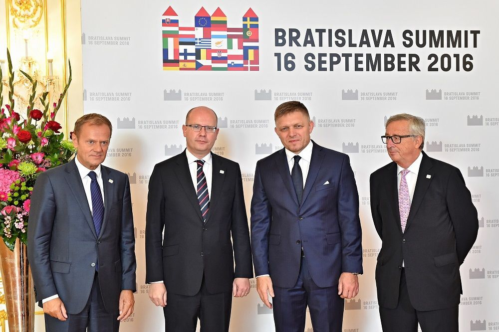 Summit v Bratislavě
