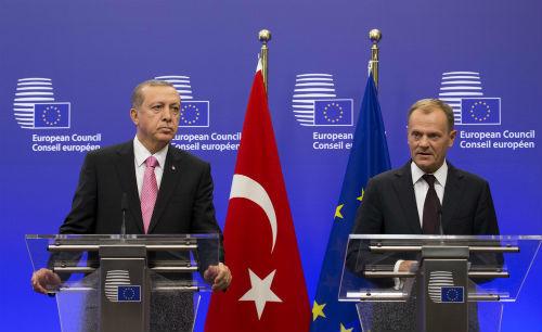 Erdogan and Tusk