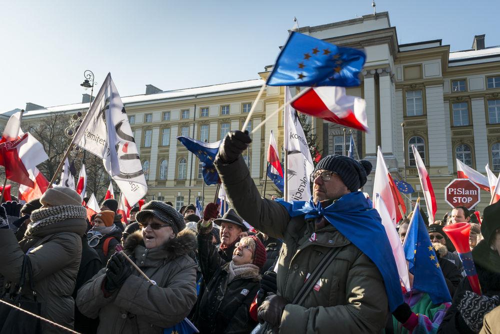 Polsko protesty