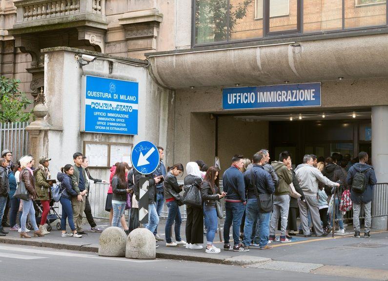 uprchlíci Itálie