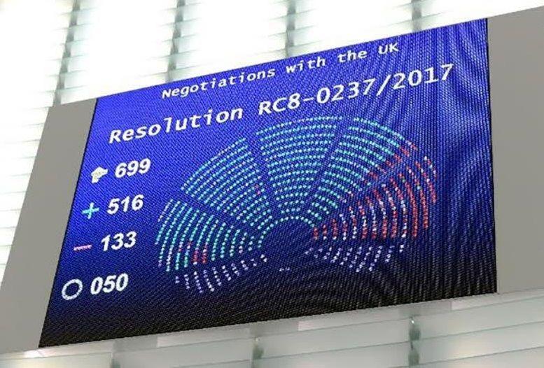 brexit Evropský parlament