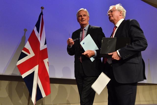 jednání o brexitu