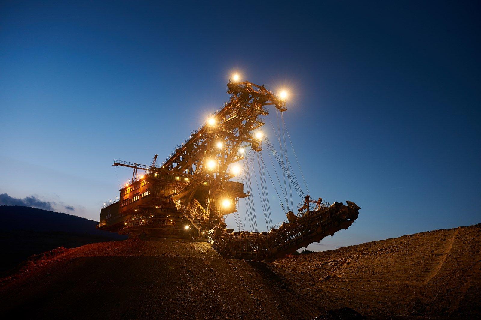 těžba uhlí ČR