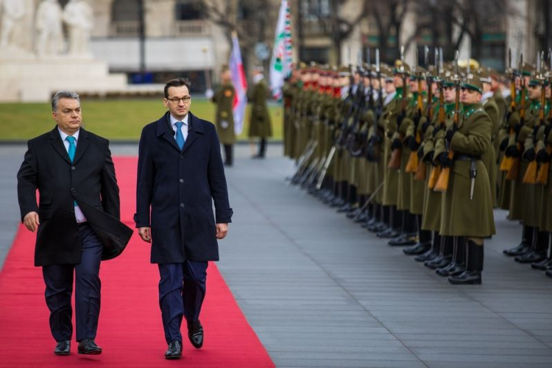 Polsko Maďarsko Brusel